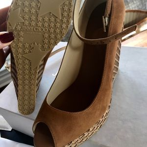 Jimmy Choo wedge sandals brand NEW size 40